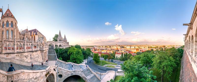 Kortur til Budapest