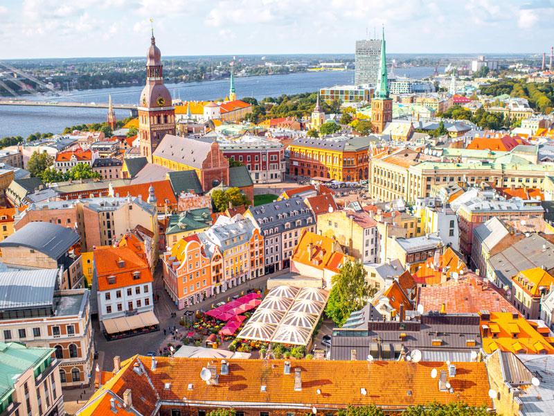 Klassetur til Riga