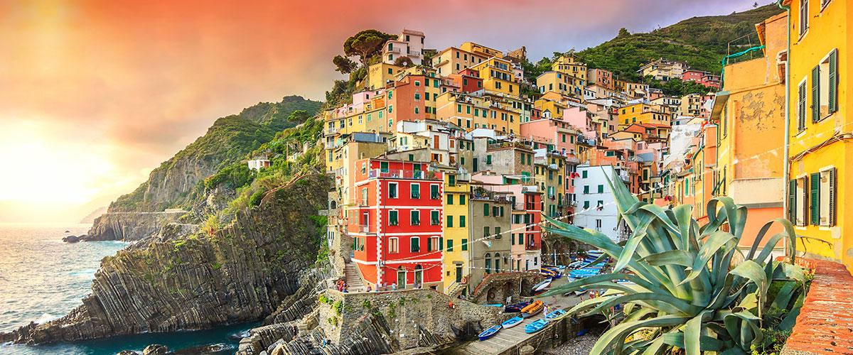 Cruise i Middelhavet med Korsika & Cinque Terre