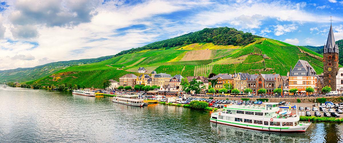 Romantiske Rhin- og Moseldalen